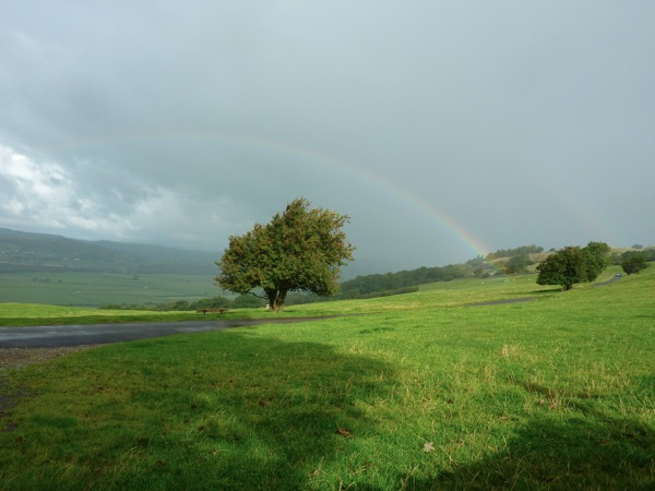 Rainbow in the Lake District