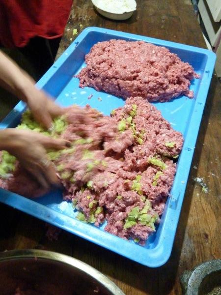 Sausage mix
